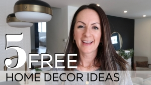 5 FREE Home Decor Ideas